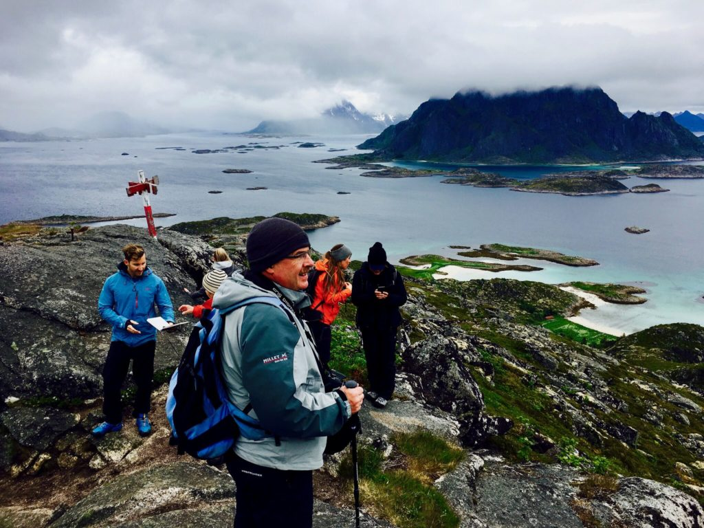 hiking the best time to visit Lofoten Islands